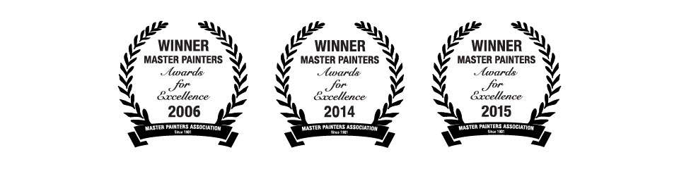 Winner Master Painters Award for Excellence
